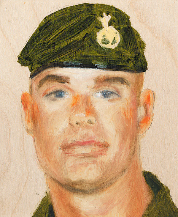 Sgt. Marc D. Léger3rd Battalion, Princess Patricia's Canadian Light Infantry April 18, 2002
