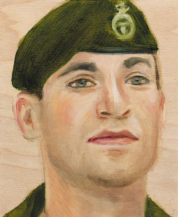 Cpl. Paul Davis 2nd Battalion, Princess Patricia's Canadian Light Infantry March 2, 2006