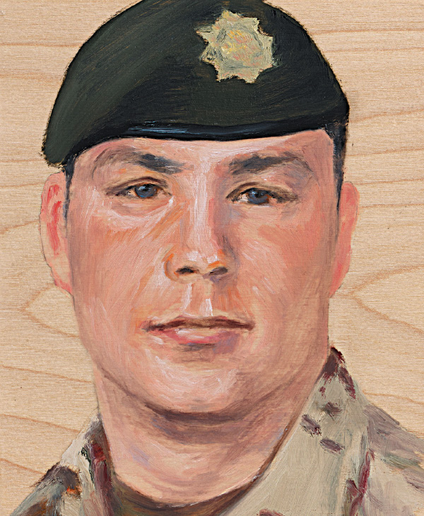 Cpl. Aaron Edward Williams 2nd Battalion, Royal Canadian Regiment April 8, 2007