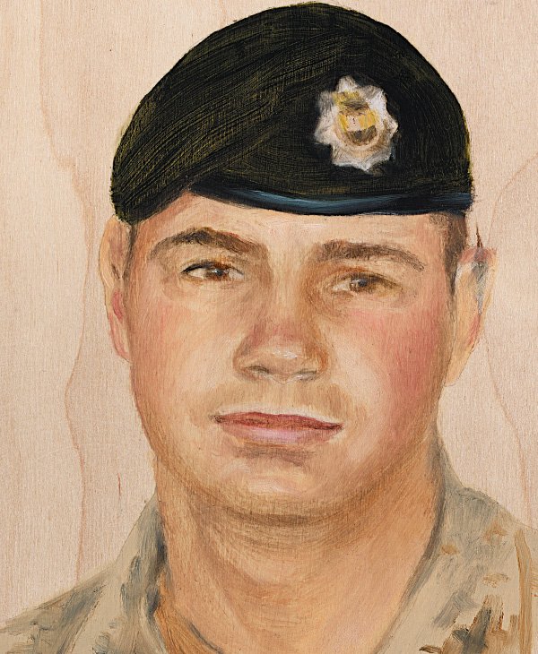 Pte. Justin Peter Jones 2nd Battalion, Royal Canadian Regiment December 13, 2008