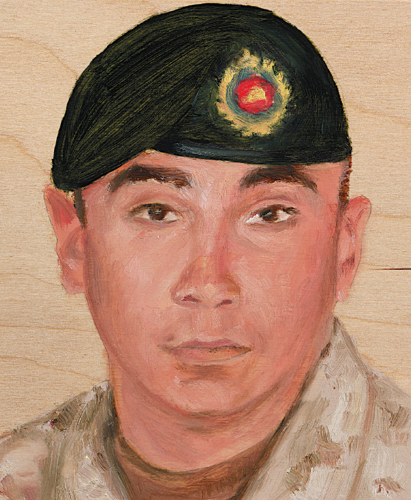 Spr. Steven Marshall 1 Combat Engineer Regiment October 30, 2009