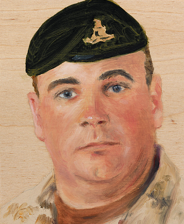 Sgt. Kirk Taylor 84 Independent Field Battery, Royal Canadian Artillery December 30, 2009